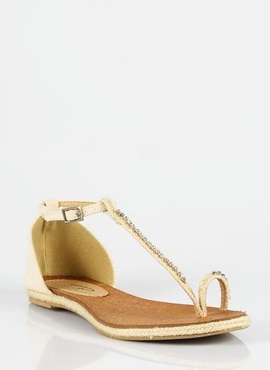 Asymmetry Pi Sandalet Bej
